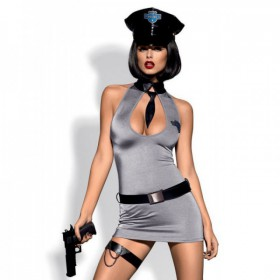 OBSESSIVE DISFRAZ POLICE DRESS L/XL