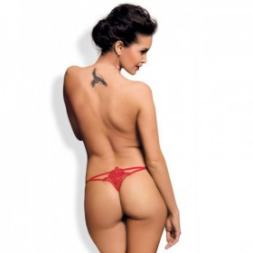 OBSESSIVE LUIZA THONG ROJO S/M