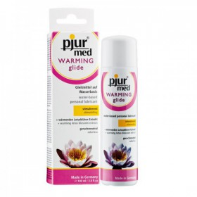 PJUR MED WARMING LUBRICANTE BASE AGUA CALOR 100 ML