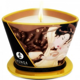 SHUNGA MINI CARESS BY CANDELIGHT VELA MASAJE CHOCOLATE 170ML